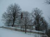 Kostel v Telecím - autor Helena Najbrtová