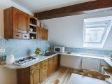 Kuchyně - Apartmán U Kopretiny