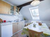 Kuchyně a jídelna - Apartmán U Slunečnice